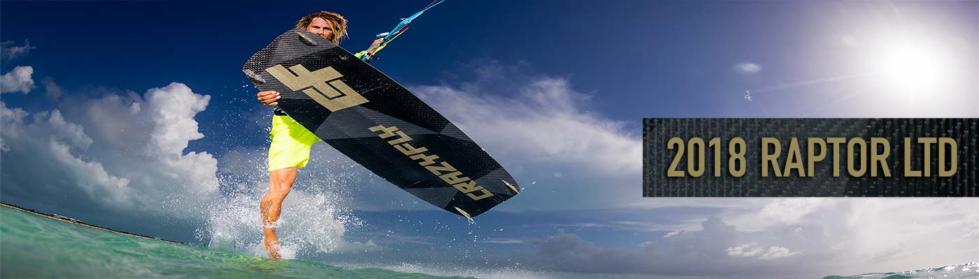 2018 Crazyfly Raptor LTD Kiteboard