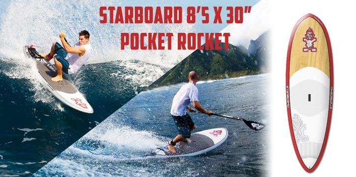starboard pocket rocket paddle board